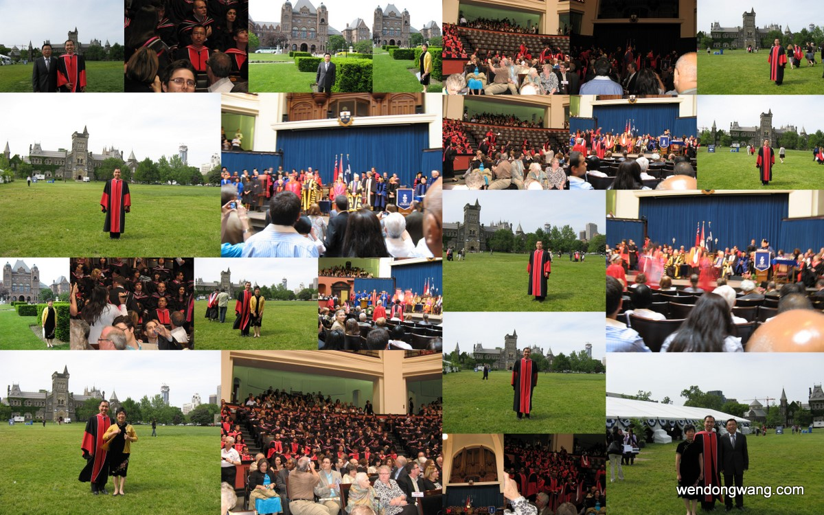 PhD Convocation, June 2011