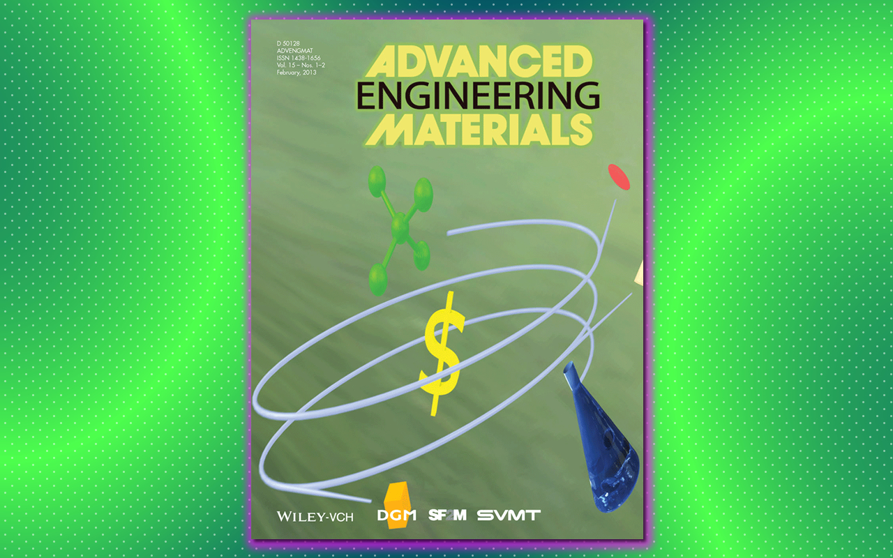 Cover Design: Spin of a Nanotech Spin-off