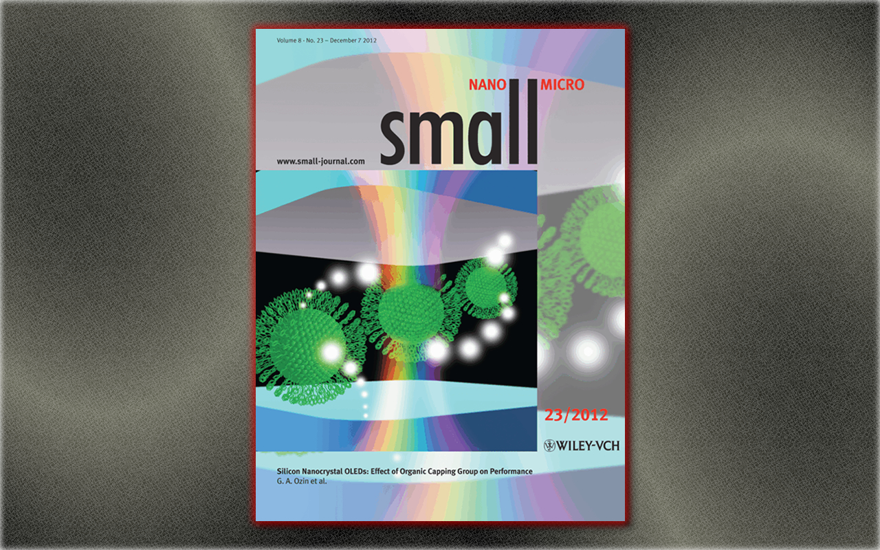 Cover Design: Silicon Nanocrystal OLEDs