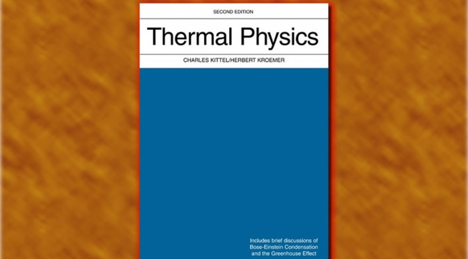 Notes on Lecture Notes: Statistical Mechanics and Thermodynamics