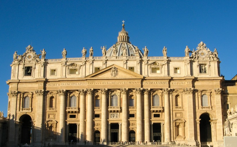 Travel Report: Rome – The Church
